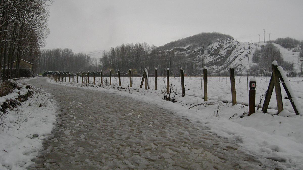 La Comisión Cicloturista determina modificar la ruta prevista para esta tarde debido a la nieve caída