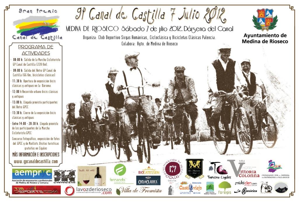 El Gran Premio Canal de Castilla será una Fiesta de la bicicleta
