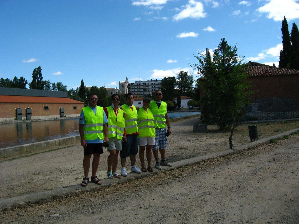 Presencia en el Gran Premio Canal de Castilla