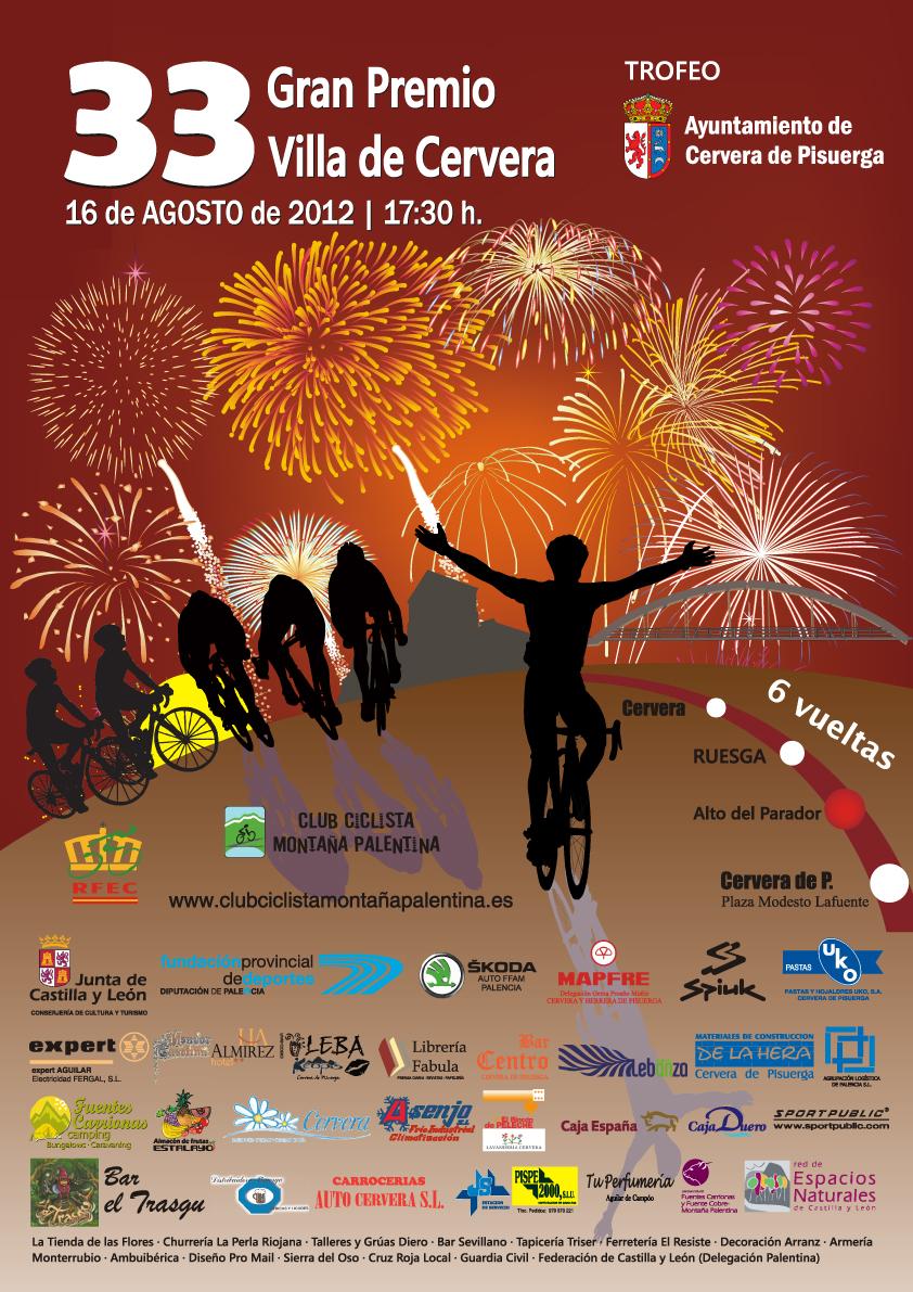 La trigésima tercera edición del Gran Premio Villa de Cervera ya posee su cartel anunciador