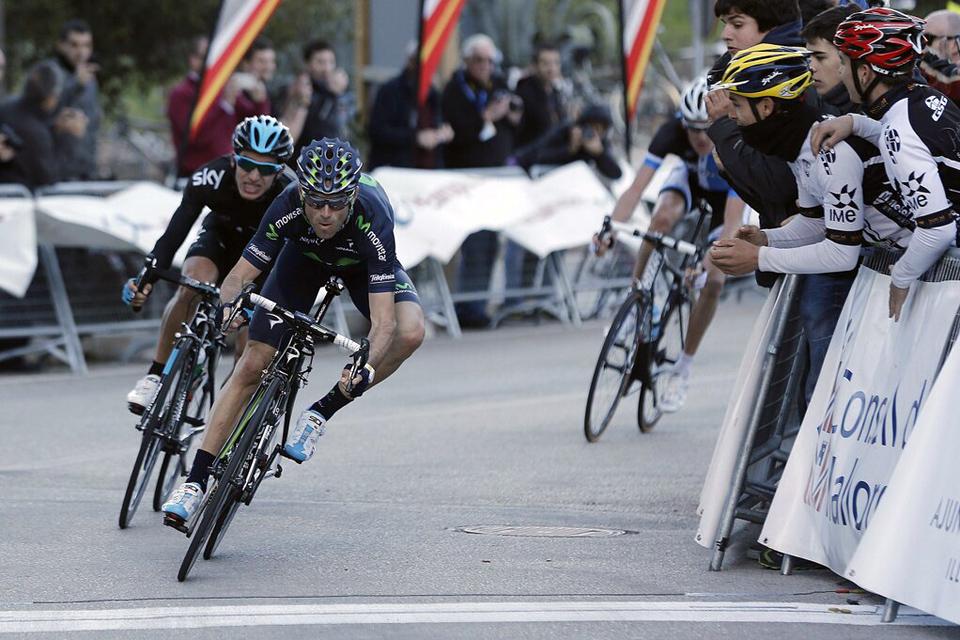Valverde y Movistar, los grandes dominadores en la primera tanda de pruebas puntuables