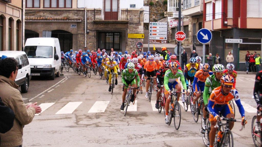 Cervera de Pisuerga coronará al vencedor final de la 28 Vuelta Ciclista Castilla y León