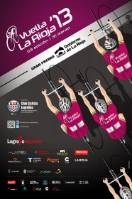Cartel de la Vuelta a La Rioja 2013.