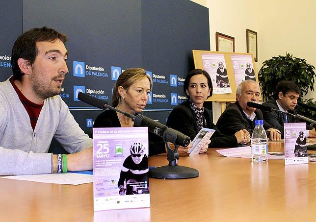 Imagen de la rueda de prensa de la presentación de la prueba. Foto: Álvaro de la Rosa / DIARIO PALENTINO