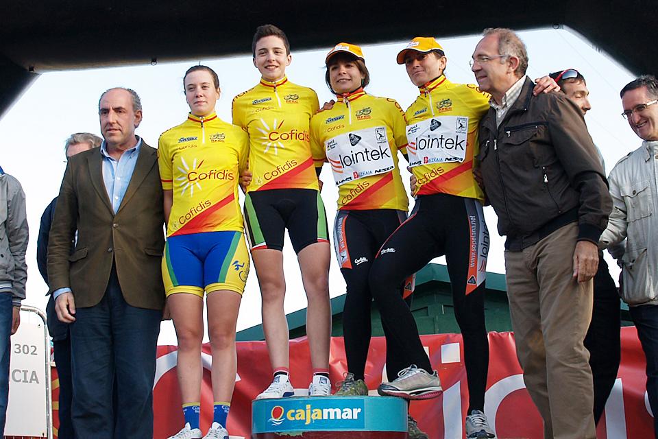 Belén López, Alicia González y María Calderón inauguran el palmares de la 'Clásica'