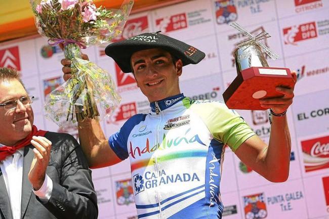 Juanjo Lobato, vencedor en Getxo en 2011.