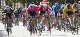 Sacha Modolo (Lampre Mérida), con sus triunfos en el tour de SanLuis y en el Trofeo de Palma, candidato a repetir victoria en la Challege de Mallorca. Foto: EFE