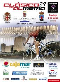 Cartel anunciador de la Clásica almeriense.