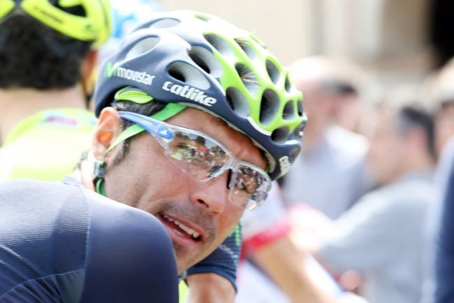 El ciclista cántabro Fran Ventoso (Movistar) se sitúa al frente de la clasificación de la Copa de España. Foto Ilario Biondi/BettiniPhoto©2013