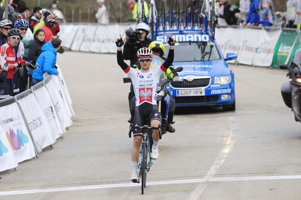 El polaco Kwiatkowski (OPQS) vence con autoridad en el Trofeo Serra de Tramuntana