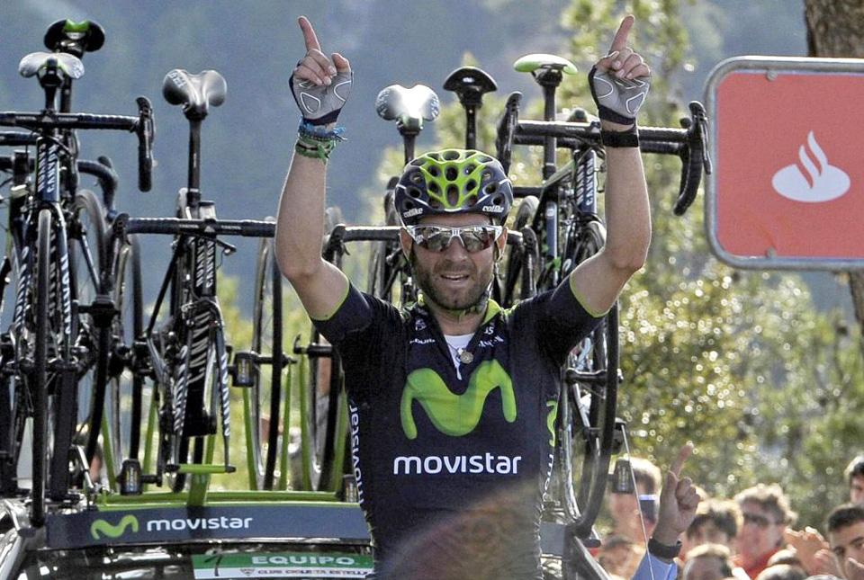 Exhibición en el GP Miguel Induráin de Alejandro Valverde que recupera el liderato