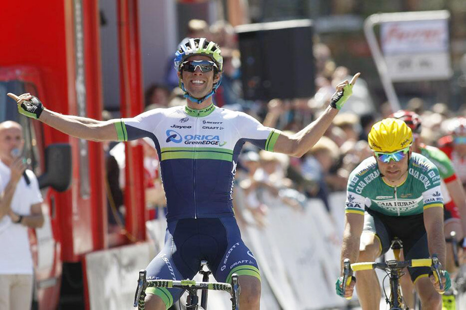 Matthews (Orica GreenEdge) cumple con los pronósticos y vence la Vuelta a La Rioja