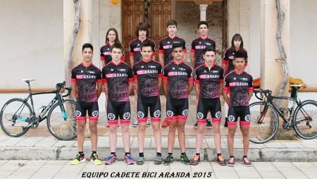 Triple jornada de convivencia con el Club Ciclista Arandino