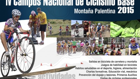 El Campus de ciclismo base se consolida con su cuarta edición que volverá a celebrarse en Cervera de Pisuerga