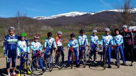 Positivo balance de las jornadas de convivencias con el Club Ciclista Arandino