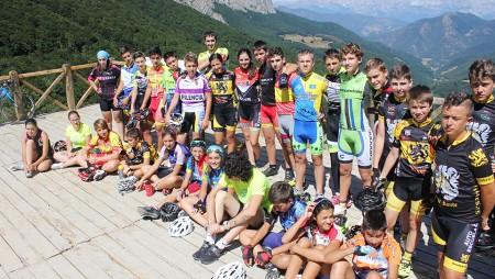 El Club convoca la quinta edición del Campus de ciclismo base