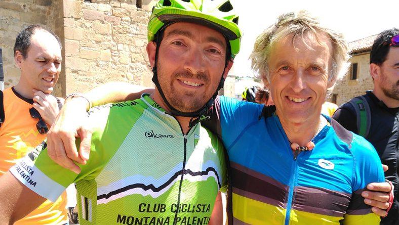 Acompañamos a Jesús Calleja en la promoción de una ruta en bici por el románico de la Montaña Palentina