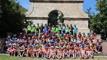 Dos centenares de deportistas participan en la sexta edición de nuestro Campus de Ciclismo que arranca este domingo